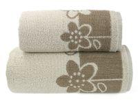 Ręcznik Paloma 50x100 Brąz Brązowy Greno