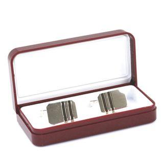 Spinki do mankietów srebro- prezent dla mężczyzny