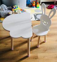 Stolik stoliczek dla dzieci chmurka