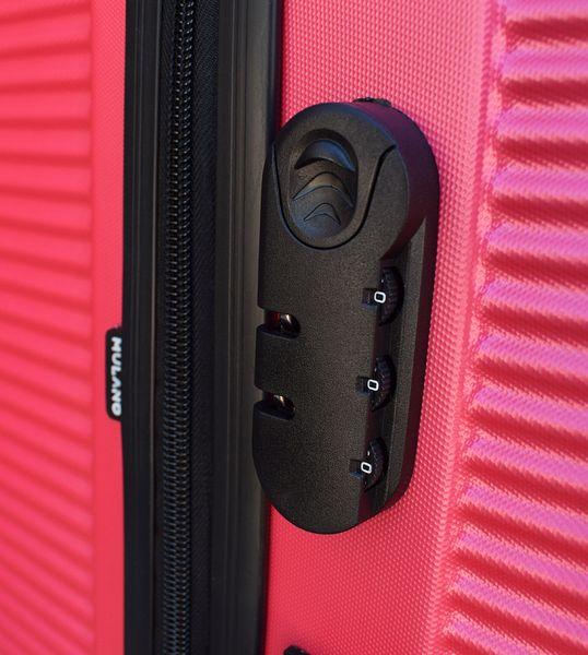 WALIZKA walizki kółka torba samolot ZESTAW M + L RÓŻOWA 1356 + 1357 zdjęcie 5