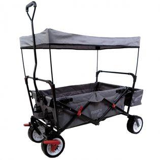 Wózek transportowy plażowy dla dzieci - szary  CT350
