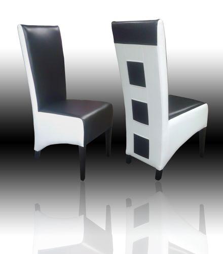 Nowoczesne krzesła tapicerowane krzesło drewniane pikowane TREND na Arena.pl