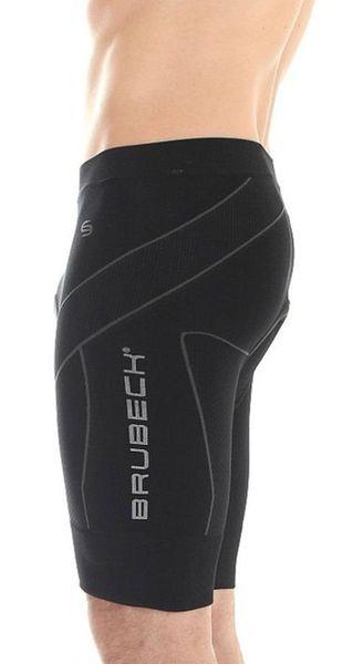 633cf130262d Brubeck LB00120 Spodnie rowerowe męskie standard czarne - r. M zdjęcie 2