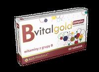 kompleks witamin B1,B12,B3,B5,B6 BvitalGold 60 tab