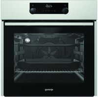Gorenje Oven Bo735E11X 71 L, Stainless Steel, Aquaclean, A, Mechanical, Height 60 Cm, Width 60 Cm, Integrated Timer, Electric