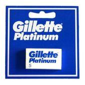 Wkłady do Maszynki do Golenia Platinum Gillette (5 uds)