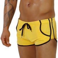 Kąpielówki męskie (Bokserki) Supa! Swim! Retro Yellow XL