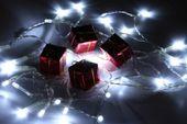 Lampki świąteczne 30 LED na baterie 3m zimny biały Joylight zdjęcie 12