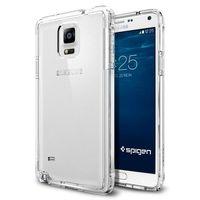 Spigen Ultra Hybrid wytrzymałe etui z żelową ramką Samsung Galaxy Note 4 N910 przezroczysty (Crystal Clear)