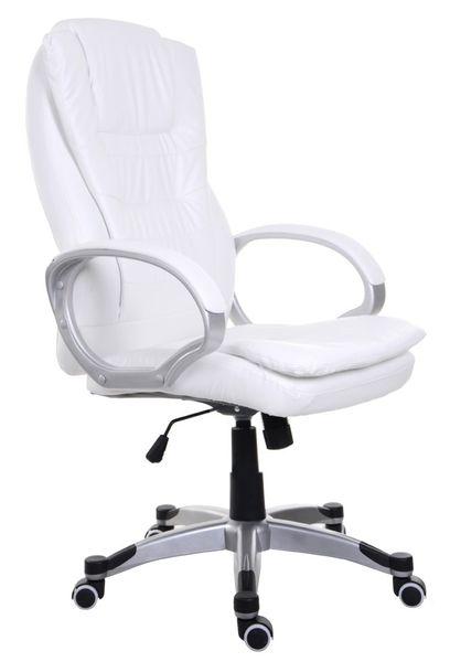 Fotel biurowy GIOSEDIO biały,model BSU002 zdjęcie 1