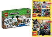 LEGO MINECRAFT 21142 IGLOO NIEDŹWIEDZIA + 2 KATALOGI LEGO