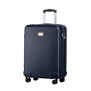Średnia walizka PUCCINI PANAMA PC029B 7A Granatowa