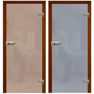 """Drzwi szklane otwierane GRAFIT lub BRĄZ  """"80""""  lub  NA WYMIAR !"""