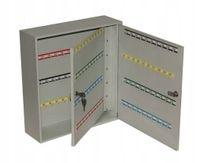 Metalowa szafka skrzynka na klucze SK 160/2Z (160 haczyków)