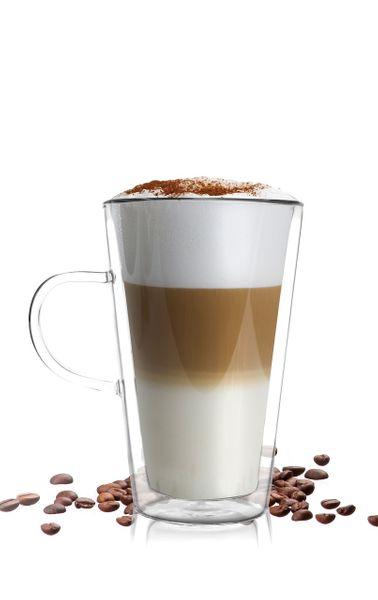 Szklanka dwuścienna latte 320 ml AMO VIALLI DESIGN zdjęcie 2