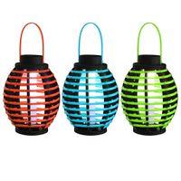 LAMPY LAMPKI SOLARNE WISZĄCE 3 SZTUKI BIAŁE LED