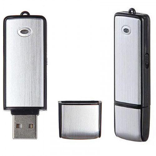 DYKTAFON PODSŁUCH PENDRIVE 8GB DETEKCJA VOX USB zdjęcie 1