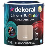 Dekoral Clean & Color 2,5L KAWOWY AROMAT
