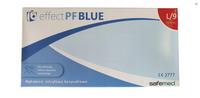 Rękawice Nitrylowe Safamed effect PF Blue rozm L  karton po 10 opak