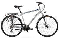 """Rower Romet Wagant 2 L (21"""") srebrny/niebieski"""