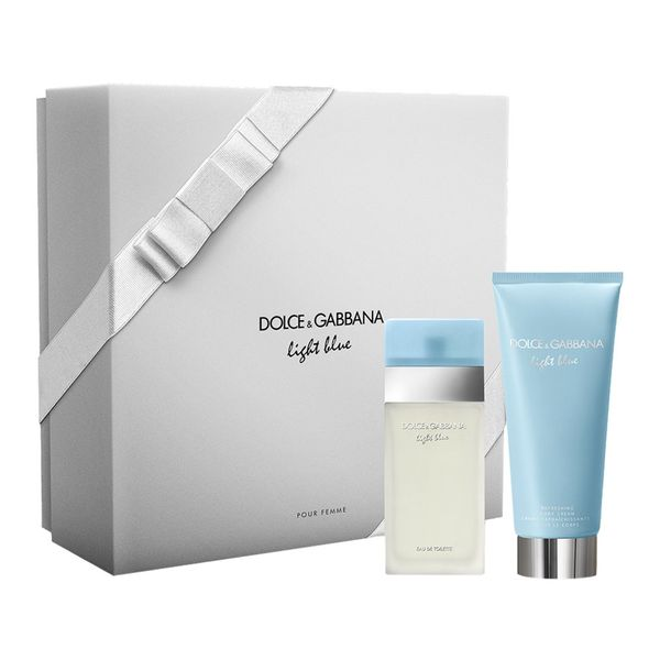 Dolce & Gabbana Light Blue zestaw - woda toaletowa 50 ml + balsam do ciała 100 ml zdjęcie 1