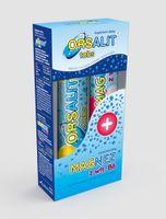 Orsalit tabs, 24 tabletek musujących + Magnez z witaminą B6, 10 tabletek musujących - Długi termin ważności!