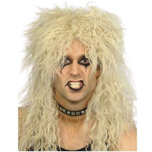 PERUKA blond włosy HARD ROCK kiss długie METAL na Arena.pl