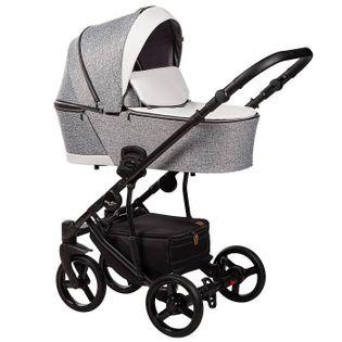 Nowość wózek dziecięcy Novis 2w1 szary