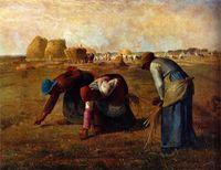 Reprodukcja Millet Kobiety zbierające kłosy40x60cm
