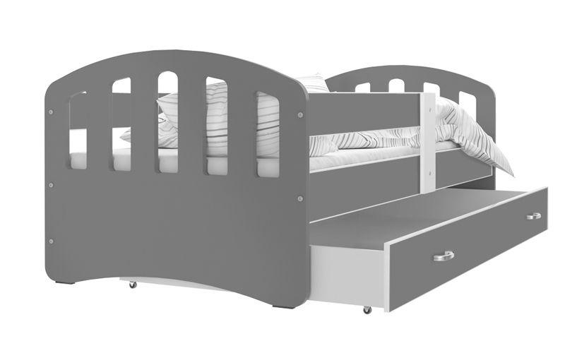 Łóżko HAPPY 160x80  szuflada + materac zdjęcie 5