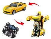 Auto-Robot Zdalnie sterowany Transformers Bumblebee RC Z661 zdjęcie 12