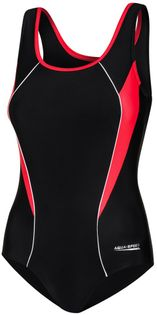 Kostium pływacki KATE Rozmiar - Stroje damskie - 36(S), Kolor - Stroje damskie - Kate - 16 - czarny / czerwony