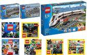 LEGO CITY 60051 + 7499 + 7895 POCIĄG + 6 KATALOGÓW