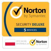 Norton Security Deluxe 5 stanowisk / 1 rok