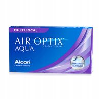 Alcon Air Optix Aqua Multifocal, 6 szt.