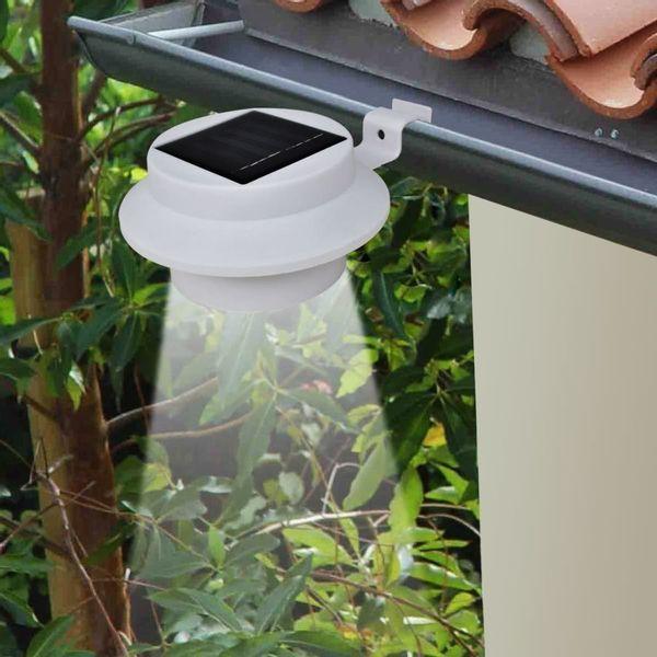 Lampa Lampy Ogrodowe Solarne 6 Sztuk Zestaw Białe
