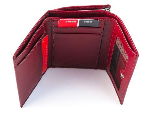 Czerwony skórzany portfel damski Pierre Cardin PFD3 na Arena.pl