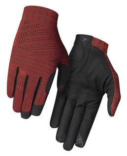 Rękawiczki męskie GIRO XNETIC TRAIL długi palec red orange roz. L (obwód dłoni 229-248 mm / dł. dłoni 189-199 mm)