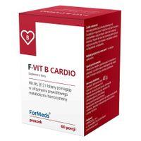 F-Vit B Cardio Formeds, 60 Porcji