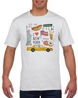 Koszulka męska I LOVE NY XXL