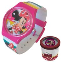 Zegarek dziecięcy Minnie Mouse Licencja Disney (50579 Pink)