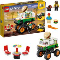 LEGO Creator Monster truck z burgerami 3w1 31104