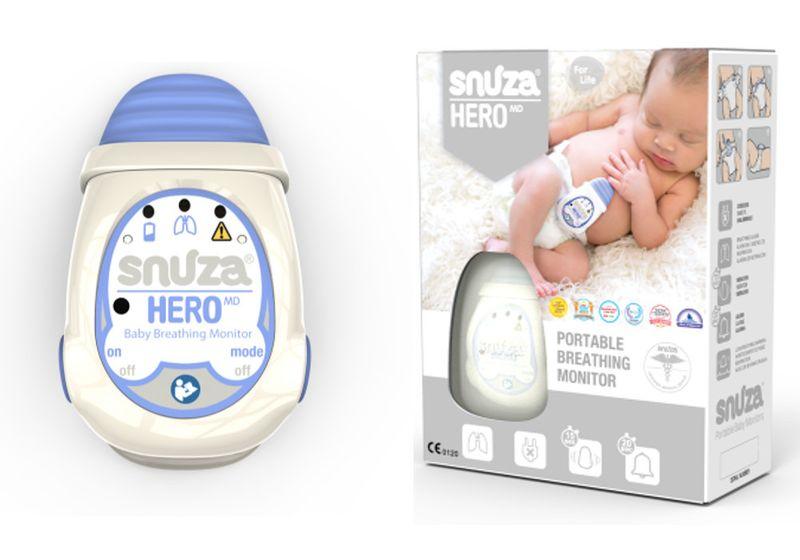 Snuza Hero MD  - przenośny monitor oddechu dla niemowląt na Arena.pl