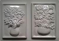 Forma do odlewów - Odlewy gipsowe - Obrazki Kwiaty (2713013)