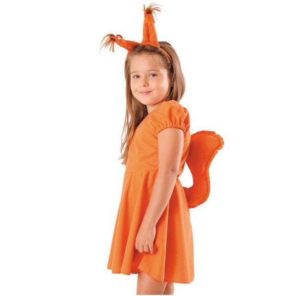 STRÓJ WIEWIÓRKA sukienka WIEWIÓRKI kostium 122/128 zdjęcie 1
