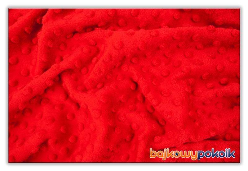 Kocyk koc BAWEŁNA / MINKY 50x75 cm Koty Czerwone zdjęcie 2