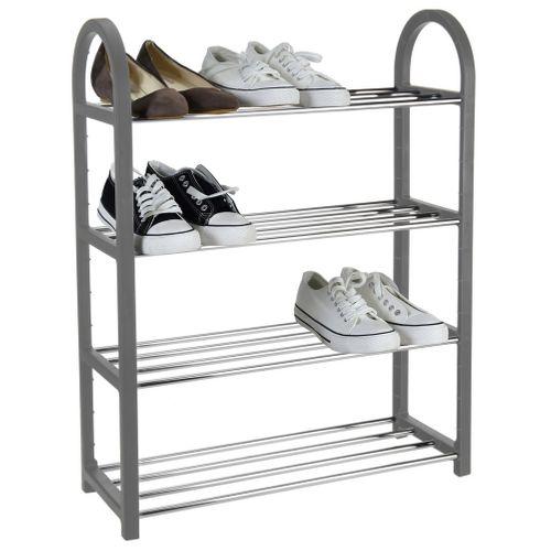 Regał szafka organizer stojak na buty 4 poziomy na Arena.pl
