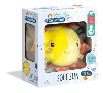 CLEMENTONI BABY Pozytywka pluszowe słoneczko 17270