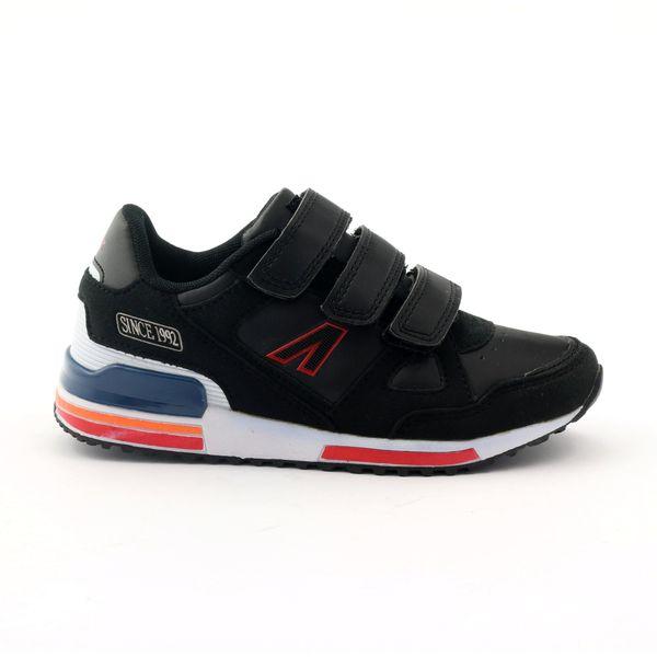 Buty sportowe na rzepy American 4594 czarne r.41