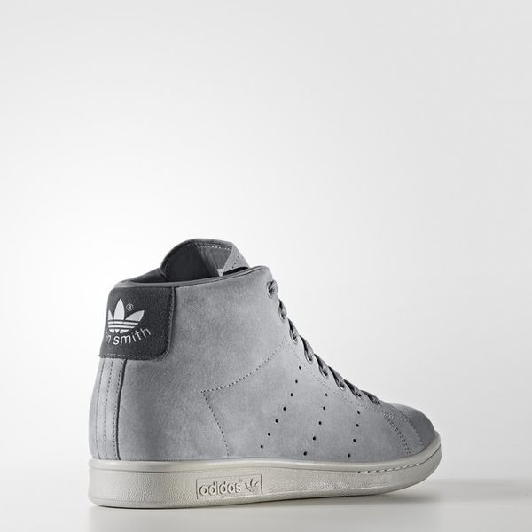 bd66e3da24b39 Adidas Originals Stan Smith BZ0651 Szare buty Wysokie zIma Męskie 44  zdjęcie 3